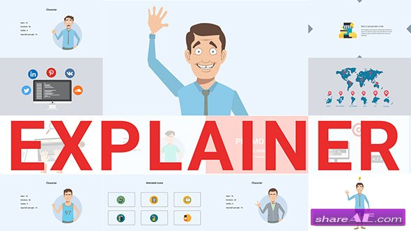 Videohive Explainer Video Toolkit 19249785