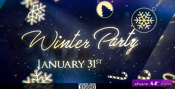Videohive Winter After Party