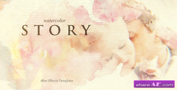 Videohive Watercolor Story