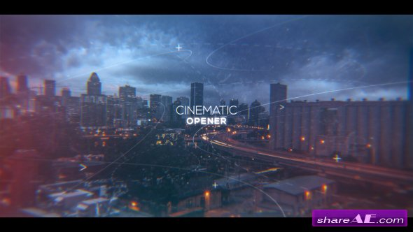 Videohive Cinematic Inspirational Parallax Opener | Slideshow
