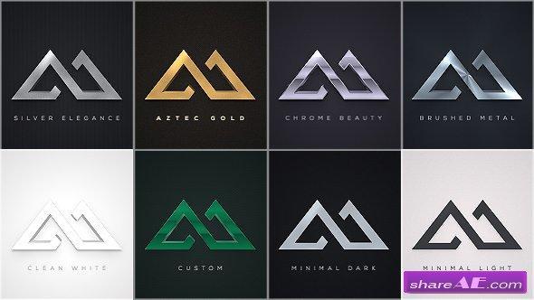 Videohive Elegant Logo Reveals Pack
