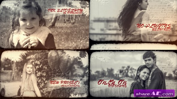 Videohive Ink Slideshow 19245273