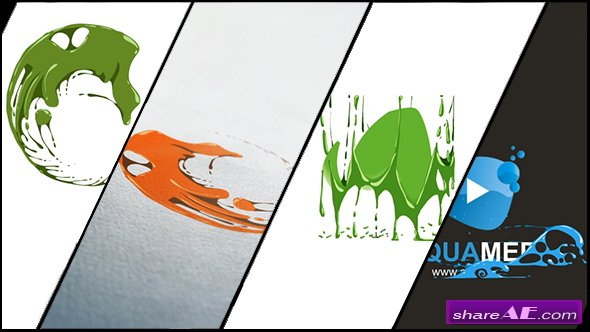 Videohive Corporate Logo V19 Liquid Hand Drawn