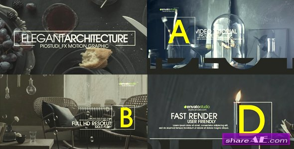 Videohive Elegant Architecture Promo