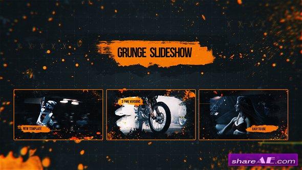 Videohive Grunge Slideshow