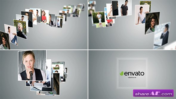 Videohive Multi Photo Logo Reveal