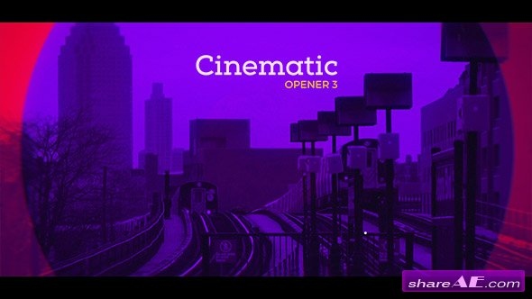 Videohive Cinematic Opener 3