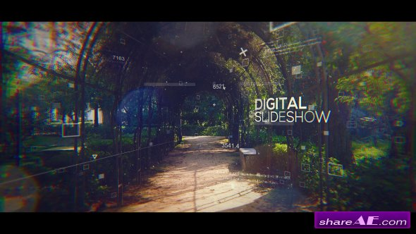 Videohive Digital Slideshow 19385795