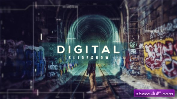 Videohive Digital Parallax Slideshow | Opener