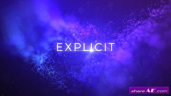 Videohive Explicit - Unique Titles