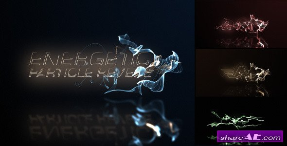 Videohive Energetic Particle Reveal