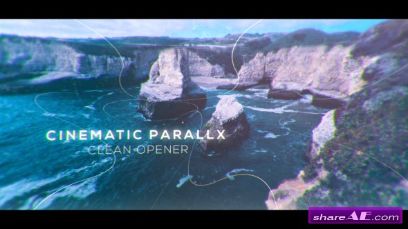 Videohive Cinematic Clean Parallax Opener | Slideshow