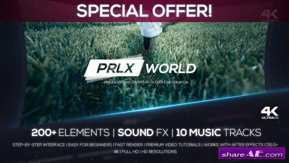 Videohive Parallax World - Professional Parallax Slideshow Creator