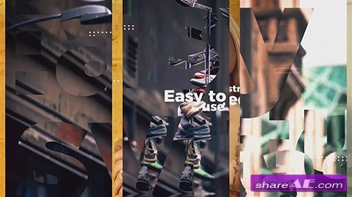 Clean Modern Slideshow - After Effects Template (Motion Array)