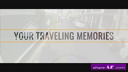 Your Travel Memories - After Effects Template (Motion Array)