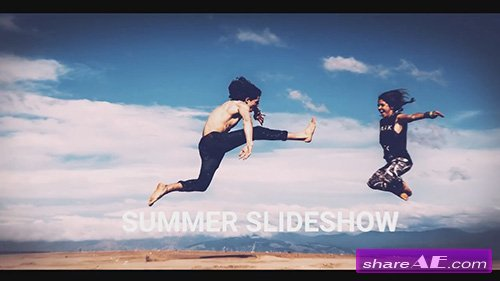 Summer Slideshow - After Effects Template (Motion Array)