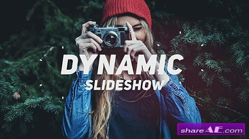 Fast Dynamic Slideshow 34109 - After Effects Template (Motion Array)