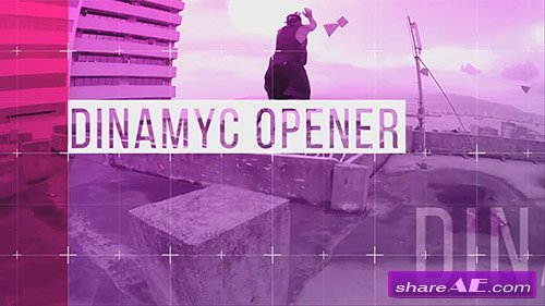 Urban Dynamic Opener - After Effects Template (Motion Array)