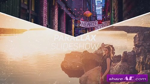 The Parallax Slideshow - After Effects Template (Motion Array)