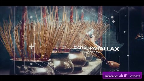 Digital Cinematic Parallax Slideshow - After Effects Template (Motion Array)