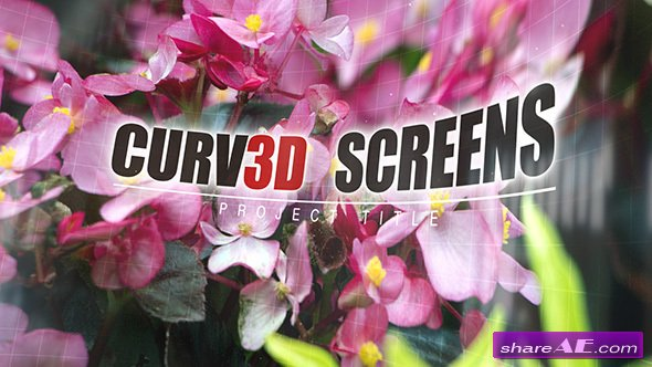 Videohive Curv3D Screens