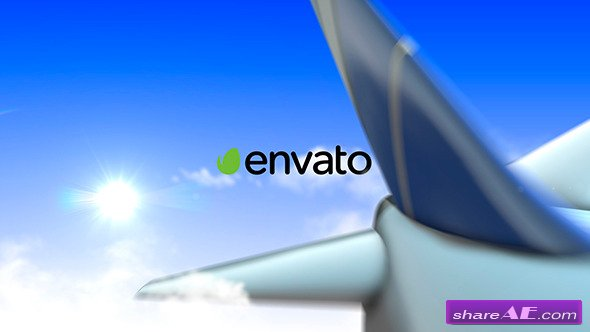 Videohive Airplane Logo