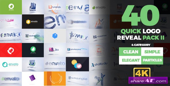 Videohive Quick Logo Reveal Pack 2
