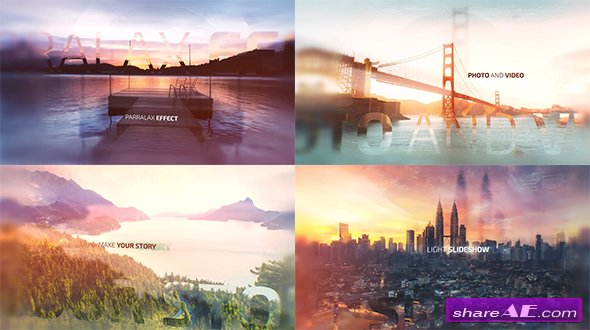 Videohive Light Slideshow