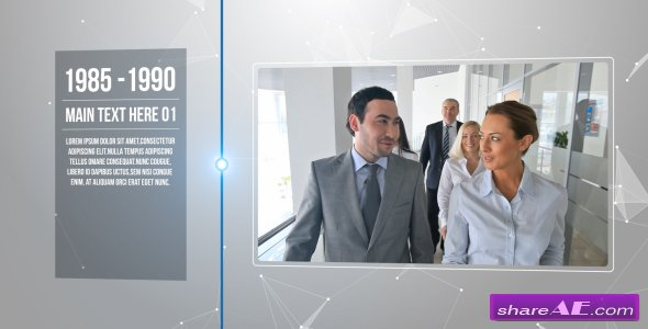 Videohive Modern Coporate Timeline