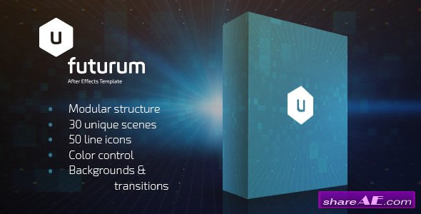 Videohive Futurum Presentation Pack