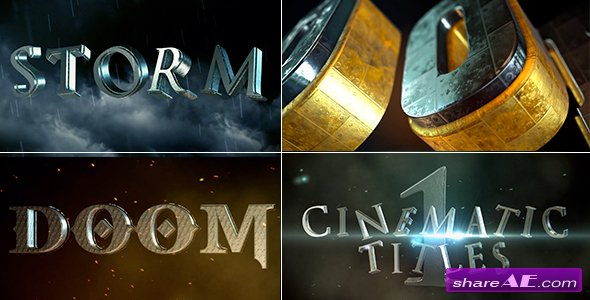 Videohive Cinematic Title 1