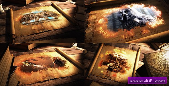 Videohive Epic Scroll Parchment