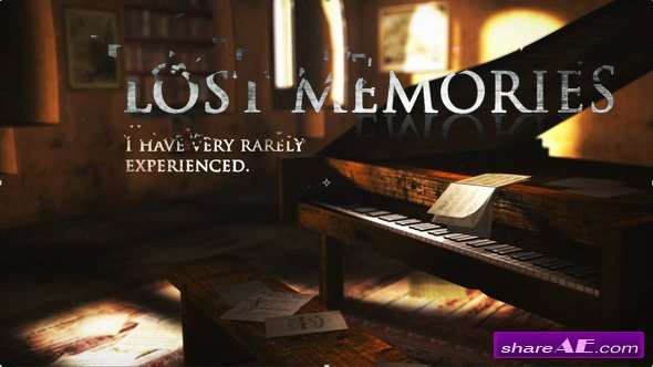 Videohive Lost Memories