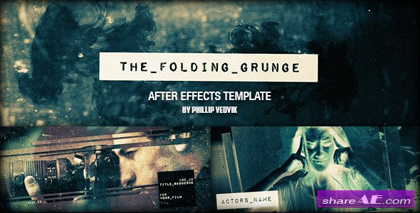 Videohive The Folding Grunge