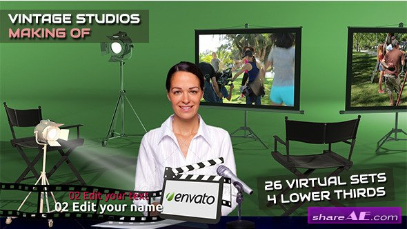 Videohive Vintage Studio - Making Of