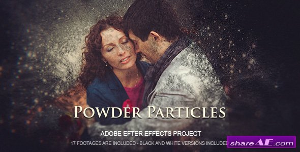 Videohive Powder Particles