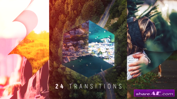 Videohive Transitions Pack