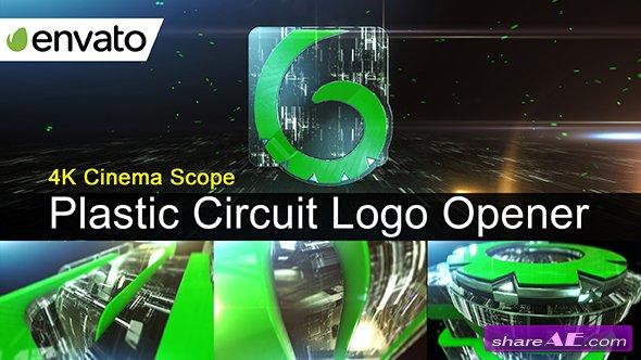 Videohive Plastic Circuit Logo Opener / Element 3D