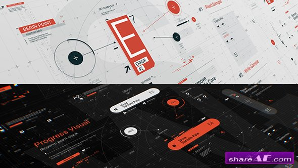 Videohive HUD Typo Graphics Pack