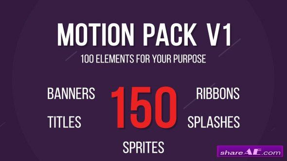 Videohive Motion Design Package
