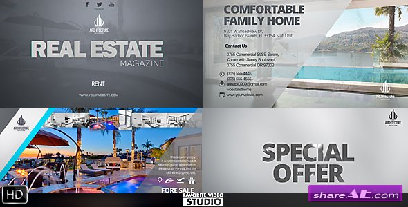 Videohive Real Estate Magazine / Broadcast ID