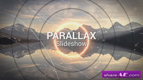 Saber Parallax Slideshow - After Effects Template (Motion Array)