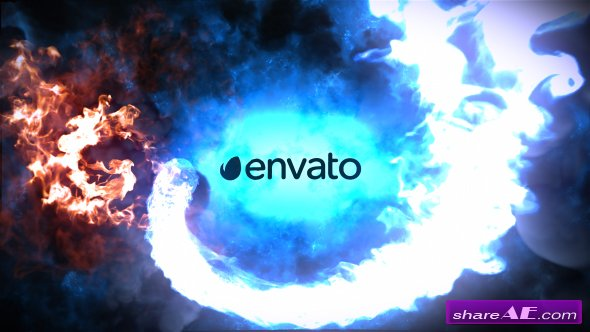 Videohive Fire And Ice Logo