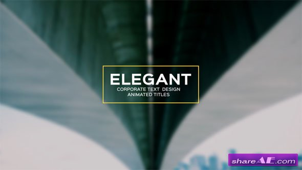 Videohive Modern and Unique Motion Titles