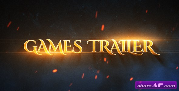 Videohive Games Epic Trailer