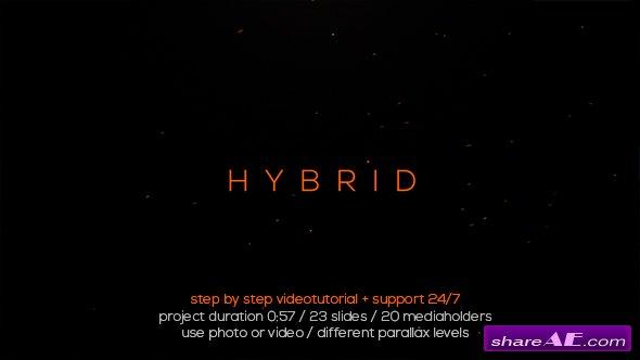 Videohive Hybrid Typo Opener