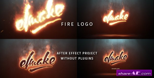 Videohive Epic Fire Logo 20431154 » free after effects templates