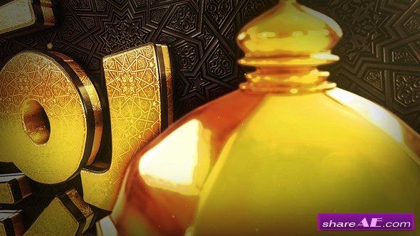 Videohive Ramadan Goldish Opener