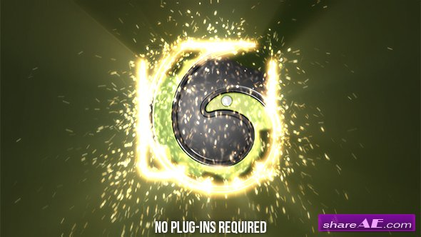 Videohive Sparks Logo Reveal