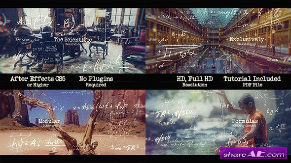 Videohive The Scientific Revolution - Parallax Slideshow